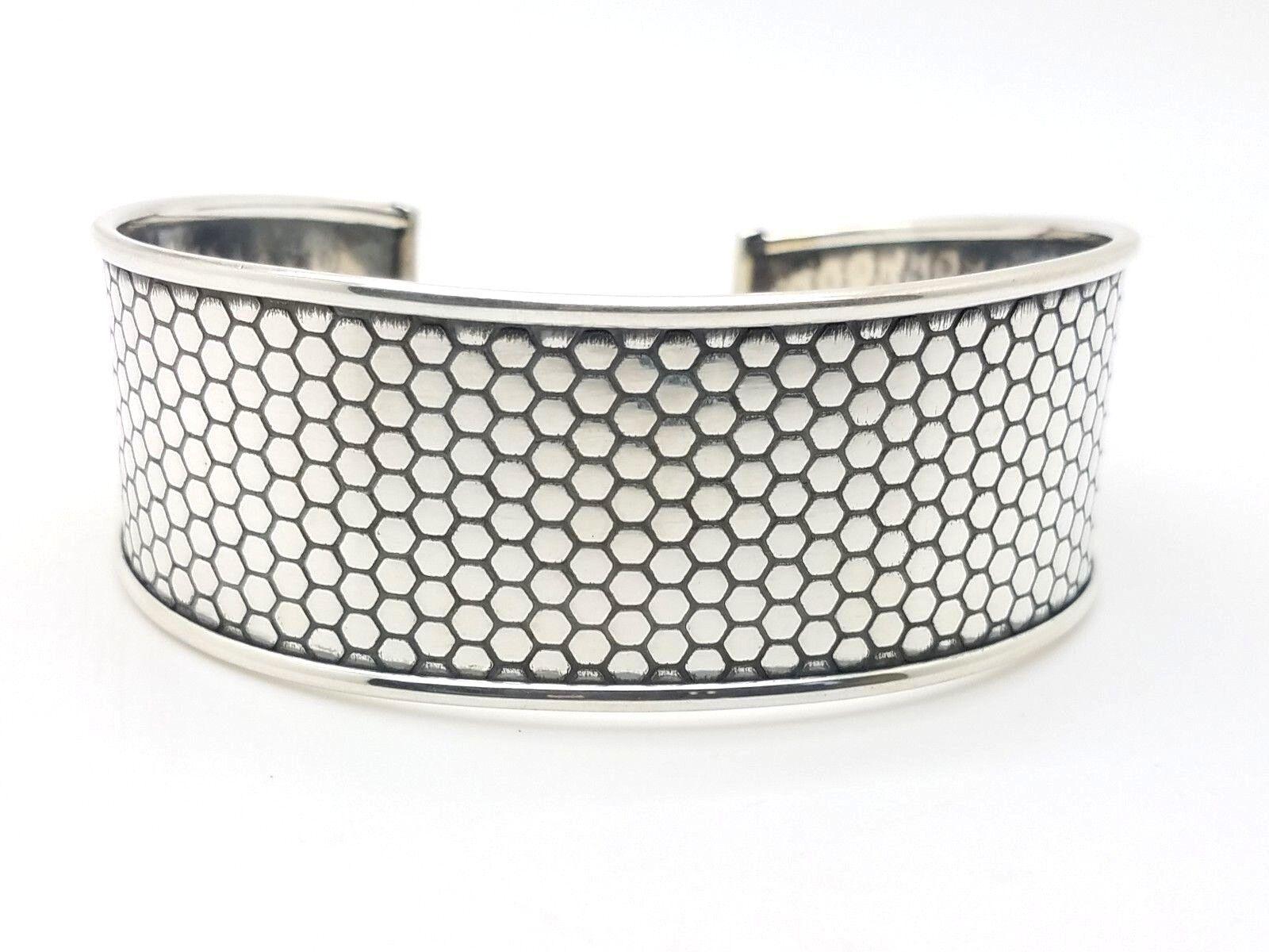 Sterling Silver Cuff Bracelet Womens 925
