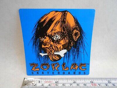 ZORLAC Shrunken Head Skateboard Sticker Skate Tough Shut Up And Skate