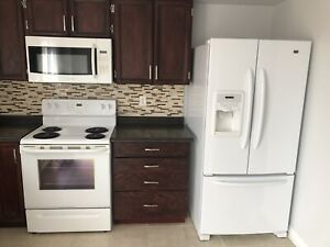 APPLIANCES - FRIDGE, STOVE, DISHWASHER, OVER RANGE MICROWAVE