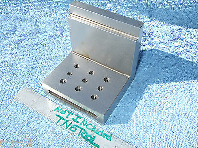 Angle Plate Toolmaker Machinist Hardened Ground 1032 Inspection Mill Grinder
