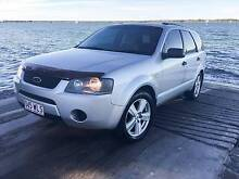 2008 Ford Territory 7 SEATER WARRANTY REGO RWC AUTO SILVER Hollywell Gold Coast North Preview