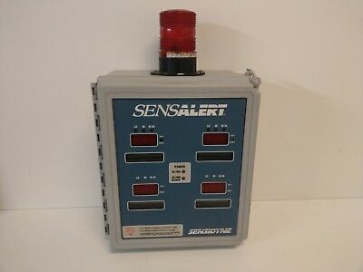 New Old Stock Sensidyne Sennsalert 115230vac Universal Gas Monitor 7013227-2