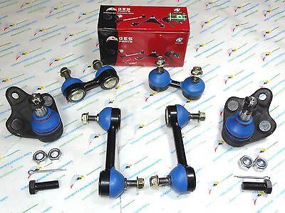 6PCS Lower Ball Joint Sway Bar Link Fits 93-02 Corolla 98-02 Prizm K9756 K90124