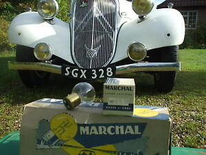 CITROEN TRACTION AVANT  NEW FRENCH HEADLAMP BULBS