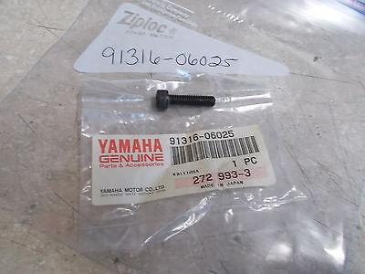 NOS OEM <em>YAMAHA</em> CYLINDER HEAD BOLT 1970 2001 XS1 TX500 MX100 YFM350 913