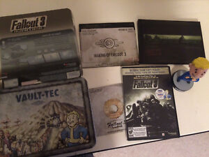 Fallout 3 Collector's Edition -Original Lunch Box & Contents NEW