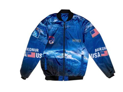 Preflight Ceremonial Jacket NASA Astronaut M. Vande Hei EXPEDITION 65 SOYUZ MS18