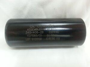 Motor start capacitor 340 408 mfd uf 220 250vac hvac cap for Motor start capacitors for sale