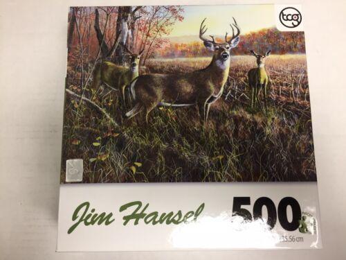 Jim Hansel The Gathering Jigsaw Puzzle (500-Piece)