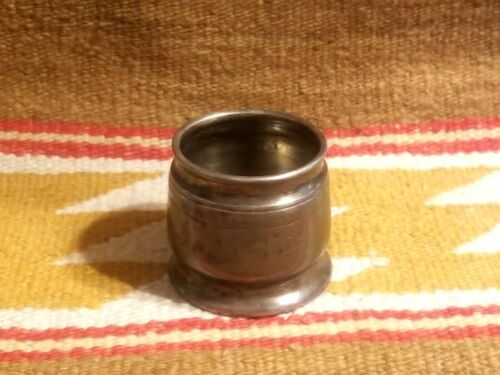 Antique THE BAKER HOTEL Dallas Texas SILVERPLATE MATCH HOLDER by Reed & Barton