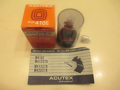 ACUTEX M410E LPM NEW CARTRIDGE AND NEW GENUINE ACUTEX 410IIE STYLUS IN PACKAGING