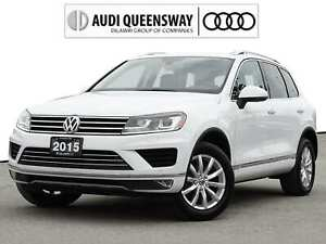 2015 Volkswagen Touareg 3.6L Comfortline|One Owner|No Accidents|