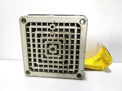 Federal Signal Model 350 Vibratone Horn Series B-1 120volts 60hz 18amps