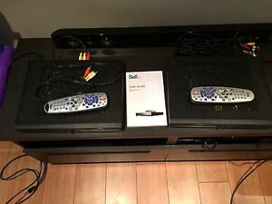 2 HD Bell Satellite Receivers