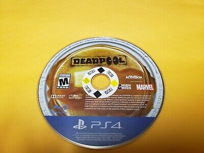 Deadpool PS4 (Sony PlayStation 4) Game Only TESTED
