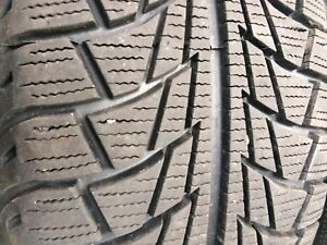 Set of 4 used winter tires 205/55R16 with good tread