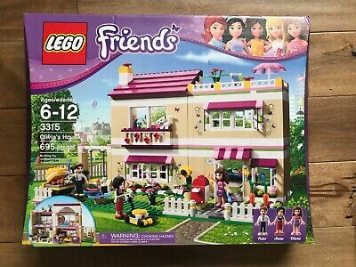 Lego Friends 3315 Olivia's House NEW SEALED IN BOX, 2012 RETIRED