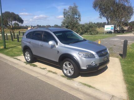 Holden Captiva 7 seat diesel leather tow bar 2008 60th special edition