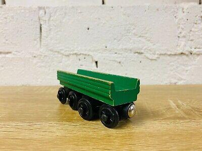Open Green Log Car - Thomas the Tank Engine & Friends Wooden Railway Trains