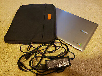 Acer Chromebook 14 (32GB, Intel Celeron N, 1.60GHz, 4GB RAM) Notebook - Silver