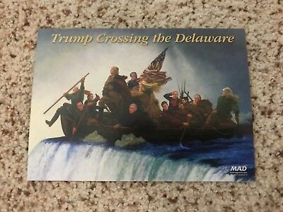 New York Comic Con 2017 - NYCC 2017 Donald Trump MAD Magazine Postcard Lot
