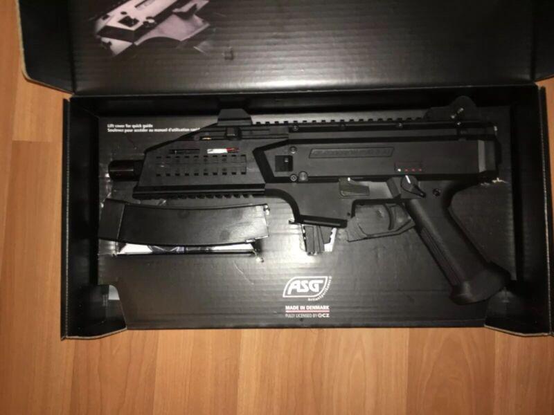 ASG CZ Scorpion EVO 3 A1 SMG AEG Airsoft Rifle Toy
