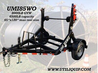 2020 Umi85wo Utiliquipcable Trailer Reel Trailer Cable Caddy Fiber Optic