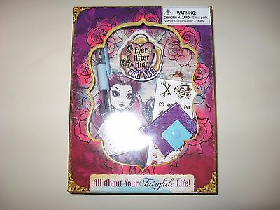 EVER AFTER HIGH AND ME - ALL ABOUT YOUR FAIRYTALE LIFE - NEW IN PACKAGE