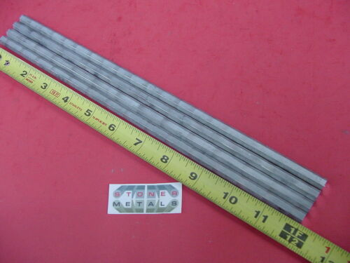 "4 Pieces HEX 5/16"" ALUMINUM 2024 Hex BAR 12"" long T4 SOLID LATHE STOCK .312"""