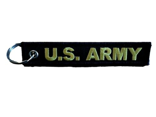"""U.S MILITARY ARMY FORT CAMPBELL KEY CHAIN KEY RING FOB 5 1/2"""" X 1"""" INCHES"""