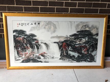 One of a kind Chinese painting
