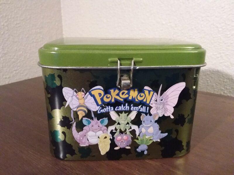 2000 Pokemon Coin Bank Tin