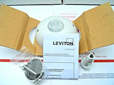Leviton Osc04-10w White Occupancy Sensor Ceiling Mount