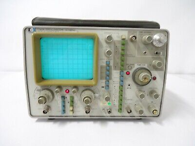 Vintage Hp Agilent 1725a 275mhz Dual-channel Oscilloscope Nice Deal Read