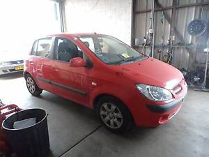 WRECKING/DISMANTLING 2006 RED HYUNDAI GETZ 1.6L AUTOMATIC North St Marys Penrith Area Preview