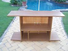 WOOD GRAIN LAMINEX CABINET/ BOOK SHELF Carindale Brisbane South East Preview