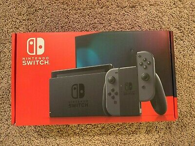 Nintendo Switch 32GB Console with Gray Joy‑Con | Brand New | In Hand