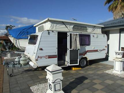 Jayco Caravan Shower,Toilet,Hot Water,3 way fridge, double bed, Queenstown Port Adelaide Area Preview