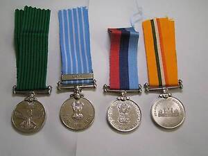 genuine indian military war medals $20.00 each Orelia Kwinana Area Preview