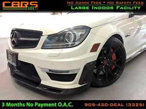2012 Mercedes-Benz C-Class C63 AMG | Carbon Fiber AMG Skirt Kit|