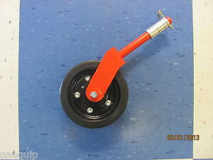 COMPLETE FINISHING/GROOMING MOWER WHEEL ASSEMBLY. FITS MANY MAKE & MODEL MOWERS