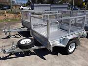 6x4 Galvanised Cage Trailer Arundel Gold Coast City Preview