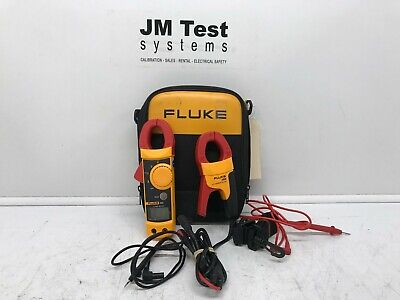 Fluke 322 Clamp Meter And I400 Ac Current Clamp W Leads Br