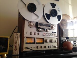 Sony TC-766 reel to reel 2 track tape recorder player