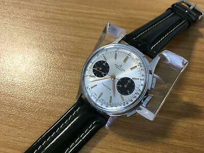 Breitling Geneve Chronograph Top Time Panda dial mechanical watch,working well