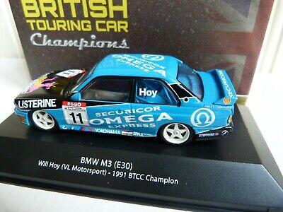 #11 BTCC Champion 1991 1:43 Atlas E30 Will Hoy BMW M3