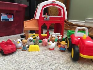 Little people farm and tractor