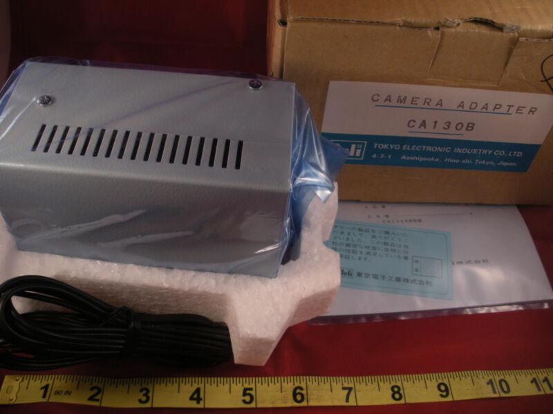 Teli CA130B Camera Adapter Power Supply Tokyo AC100V in Nib New