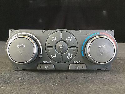Used, 2007 Nissan Altima Heater AC Control 2.5L S-Model 4DR Sedan 27510-JA200 R318 for sale  Wilmington