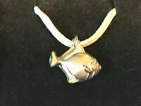 Goldfish Tg149 English Pewter On 18, White Cord Necklace - goldfish - ebay.co.uk
